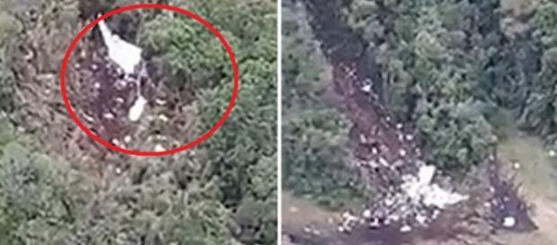 Imagens exibem avião repartido - Youtube