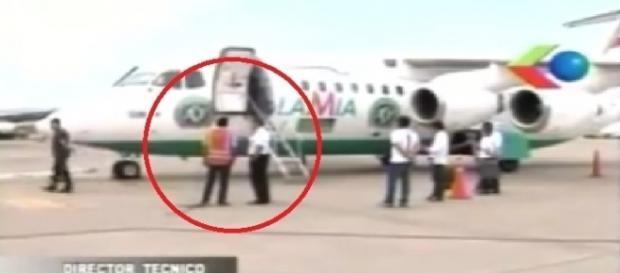 Imagens minutos antes do embarque da Chapecoense foram divulgadas