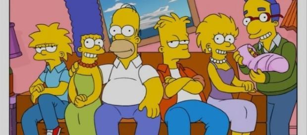 La familia Simpsons nunca envejece en la serie