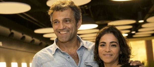 Luciana Lima agradece reconhecimento ao trabalho do marido Domingos Montagner