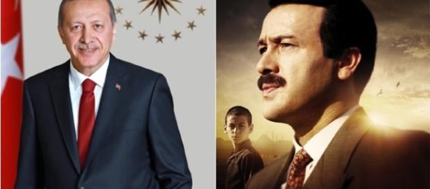 Recep Tayyip Erdoğan coming soon to theaters screencap via MDB