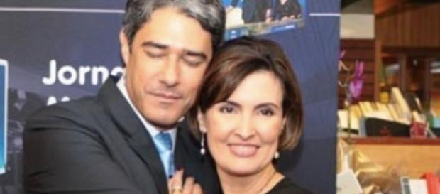 William Bonner e Fátima Bernardes - Imagem/Google