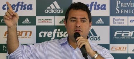 Alexandre Mattos, diretor de futebol do Palmeiras (Foto: Cesar Greco/Ag Palmeiras/Divulgação)