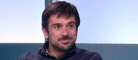 El joven senador de Podemos Ramón Espinar