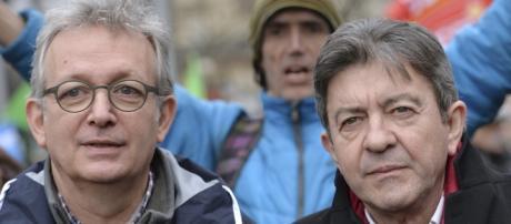 Pierre Laurent et Jean-Luc Melenchon