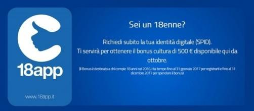 18app: come ottenere bonus 500 euro per 18enni.