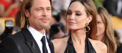 Angelina Jolie y Brad Pitt en pareja