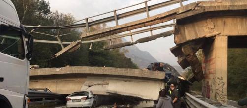 Cavalcavia di Lecco, un morto e diversi feriti nel crollo