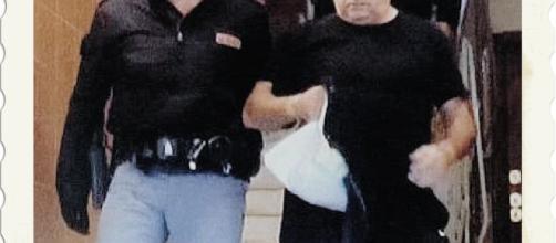 Giuseppe Levanti, a destra, è stato arrestato dagli uomini della Squadra Mobile di Cagliari.