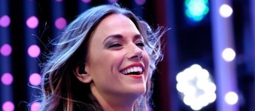Jana Kramer may not be able to dance with usual 'DWTS' 2016 partner Gleb Savchenko on Monday night. Justin Higuchi/Wikimedia
