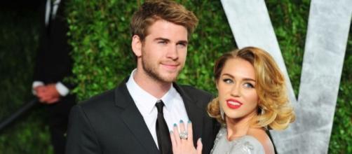 Liam Hemsworth and Miley Cyrus - theodysseyonline.com
