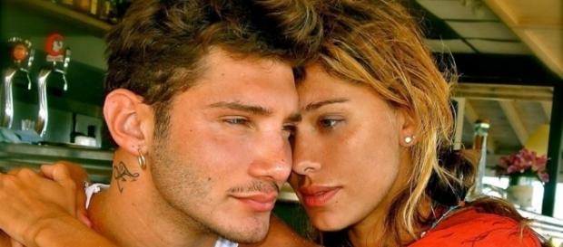 Belen Rodriguez con l'ex marito Stefano De Martino