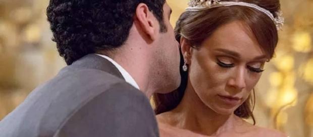 Beto assina os papéis e termina o casamento com Tancinha