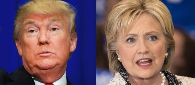 Donald Trump e Hillary Clinton irão disputar as eleições presidenciais no próximo dia 7