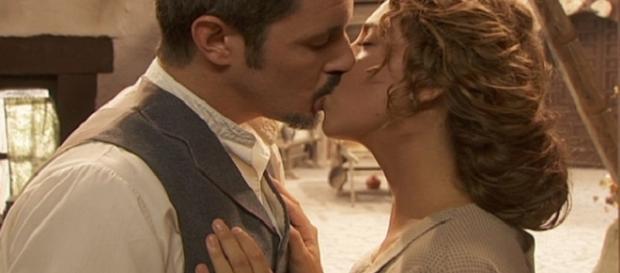 Emilia e Alfonso, soap opera Il Segreto
