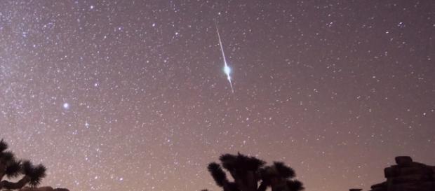 Meteoro Taurídeo fotografado nos Estados Unidos. Imagem: Channone Arif