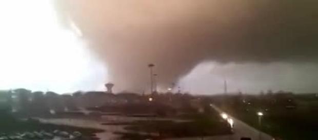 Tromba d'aria a Ladispoli e Cesano