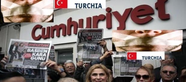 Turchia riflettori accesi verso la repressione