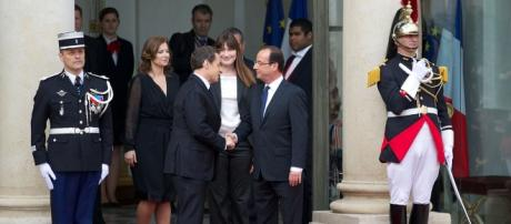 Nicolas Sarkozy et Francois Hollande CC BY