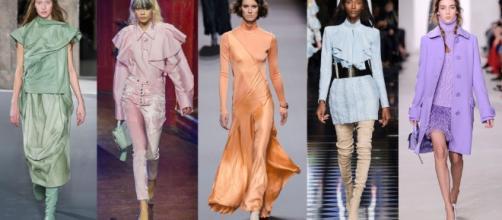 10 look in colori pastello di moda questo autunno inverno 2016-2017 - cosmopolitan.it