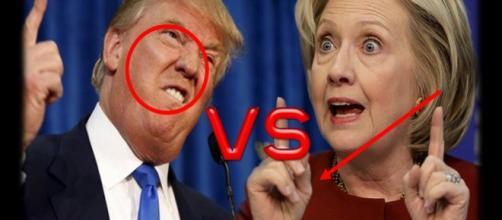 El lenguaje corporal de Donald Trump y Hillary Clinton
