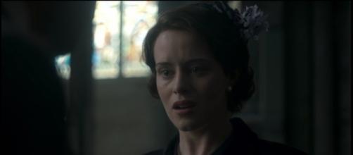 Elizabeth II dans la série The Crown