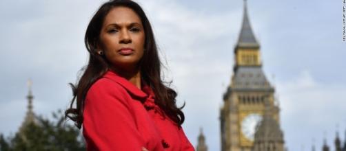 Gina Miller, figura di spicco tra gli attivisti del ricorso all'Alta Corte di Londra.