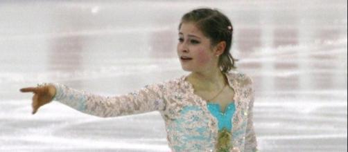 Julia Lipnitskaia struggled through her free skate at the 2016 Rostelecom Cup. Luu/Wikimedia Commons