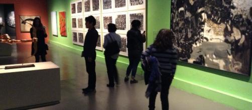 Los salones en el Museo de San Idelfonso revestidos con la obra máxima de China.
