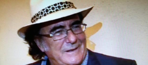 Albano Carrisi intervistato a Roma.