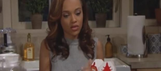 Bold And The Beautiful November 7th episode screenshot by Andre Braddox