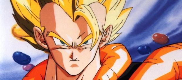 Fusión metamor de Goku y Vegeta