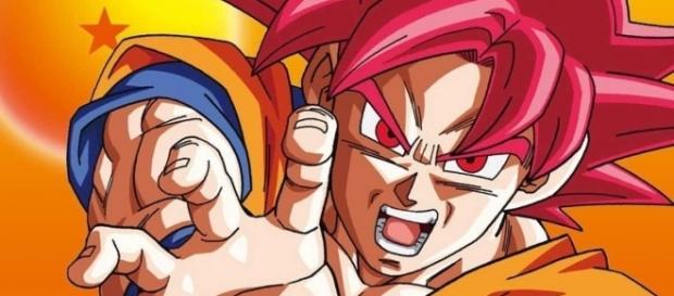 Goku en la caja numero 1 del DVD oficial de la serie