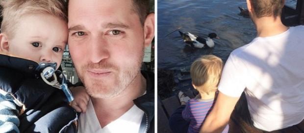 Il figlio di Michael Bublè ha un tumore
