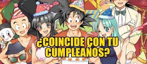 Los cumpleaños de los personajes de Dragon Ball Según la weekly shonen Jump