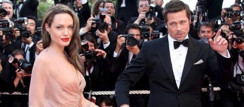 Brad Pitt e Angelina Jolie alla Mosta del Cinema