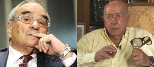 El exministro de Gobernación Rodolfo Martín Villa y Utrera Molina ... - teinteresa.es