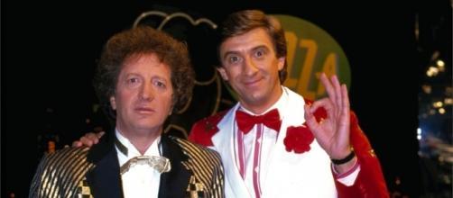 Ezio Greggio e Gianfranco D'Angelo, la prima coppia di conduttori di Striscia la notizia