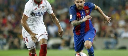 Leo Messi volvió a ser decisivo en un partido muy caliente contra el Sevilla