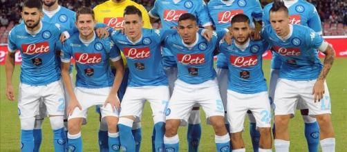 La formazione del Napoli Calcio.
