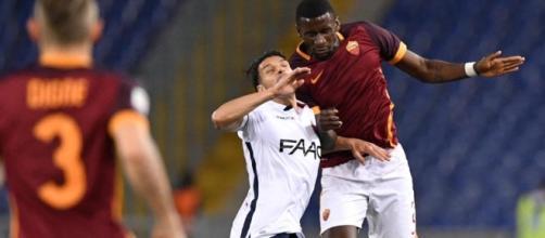 Serie A: Roma-Bologna 1-1, Salah non basta - Sportmediaset - mediaset.it