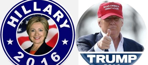 Deux badges passe-partout pour les candidats. Il en est de plus cocasses ou hilarants.... Cherchez-les !
