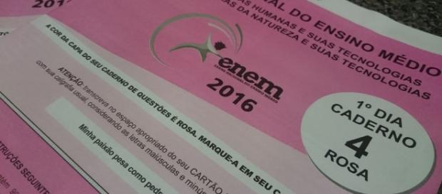 ENEM 2016 pode ser anulado em todo o Brasil (Foto: Reprodução/G1)