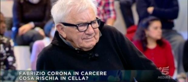 """Fabrizio Corona va curato, ma non in galera"""": le parole di Don Mazzi - today.it"""
