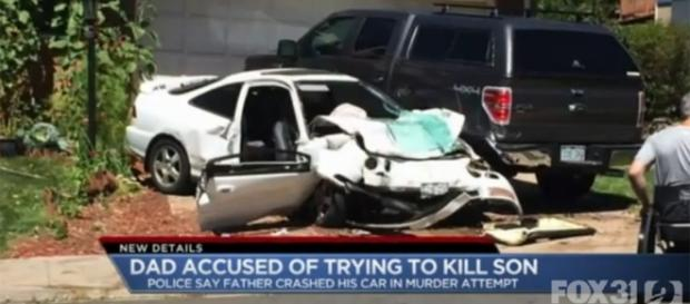 Father tries to kill his two-year-old son by crashing car at 75mph ... - thesun.co.uk
