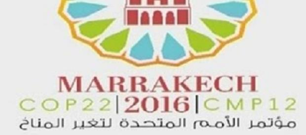 Logo della COP 22 o CMP 12 a Marrakech