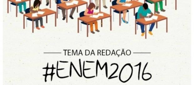 MEC divulga tema da redação do ENEM 2016