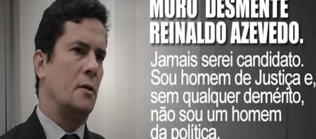 Moro concedeu entrevista ao Estado de S. Paulo