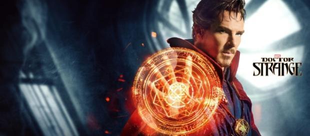 O ator Benedict Cumberbatch interpreta Doutor Estranho
