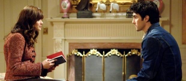 Rory (Alexis Bledel) e Jess (Milo Ventimiglia )